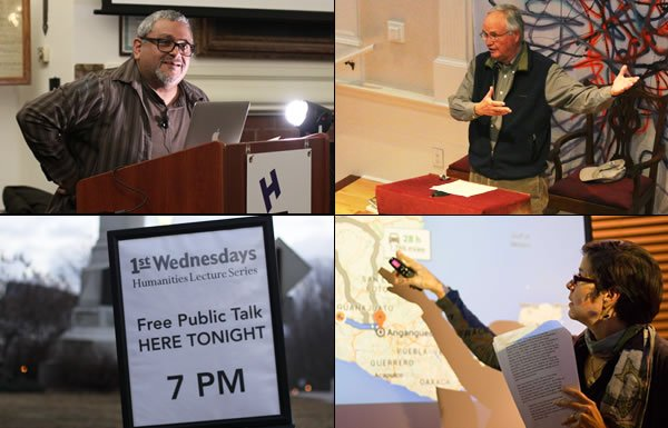 Image of four First Wednesdays talks