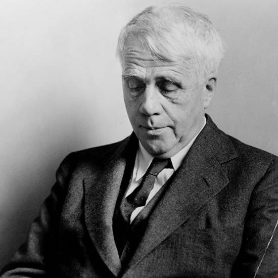 Image of Robert Frost Looking Down