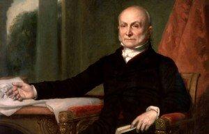 Painting of John Quincy Adams