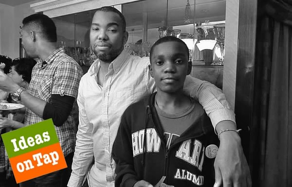 Photo of Ta-Nehisi Coates and his son