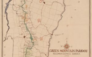 Image of Green Mountain Parkway map