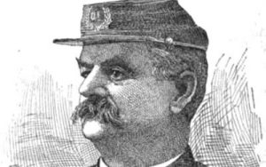 Image of drawing of Civil War soldier