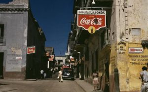 Image of corner store with Coca-Cola sign