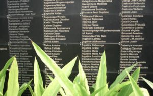 Image of granite wall with names