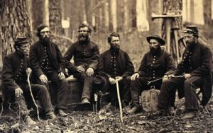 Image of Civil War soldiers
