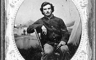 Image of Civil War soldier