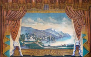Image of theater curtain