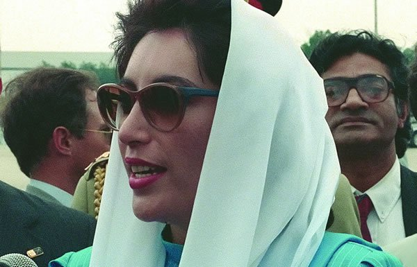Image of Benazir Bhutto from 1988