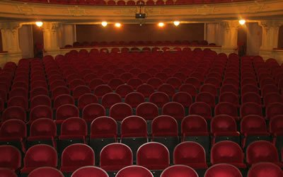 Image of empty theatre and seats