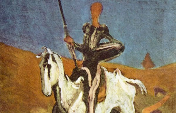 Image of painting of Don Quixote