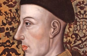 Image of painting of Henry V