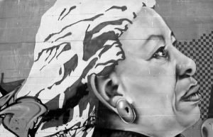 Image of painting of Toni Morrison