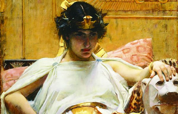 Image of painting of Cleopatra