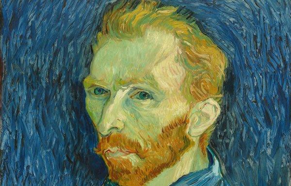 Image of Van Gogh self-portrait