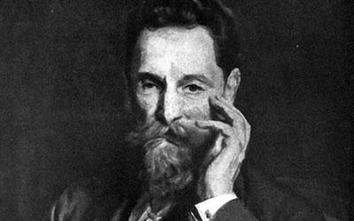 Image of painting of Joseph Pulitzer