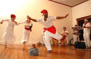 Image of Cuban dancers