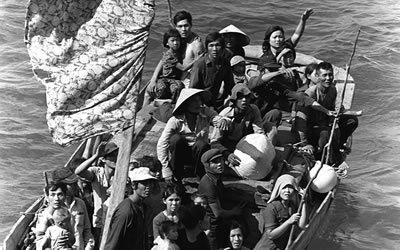 Image of Vietnamese Boat People