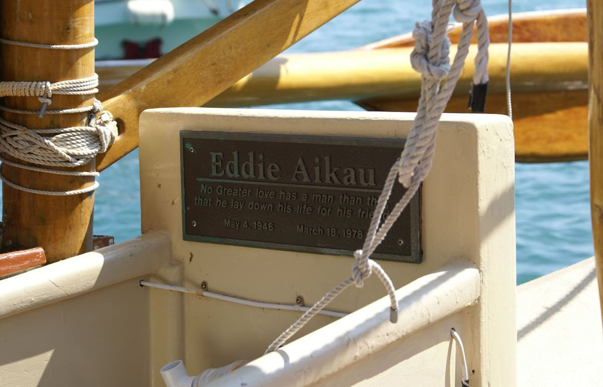 Image of Eddie Aikau monument