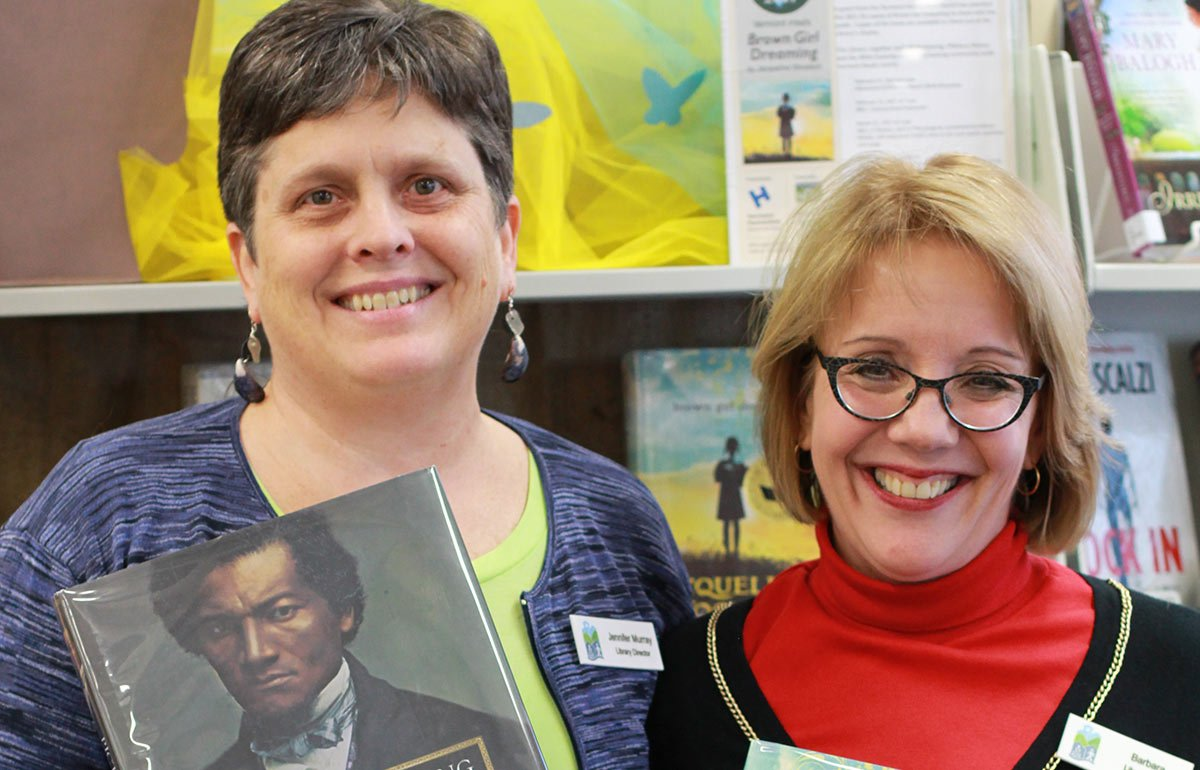 Image of Jennifer Murray and Barbara Ziemann