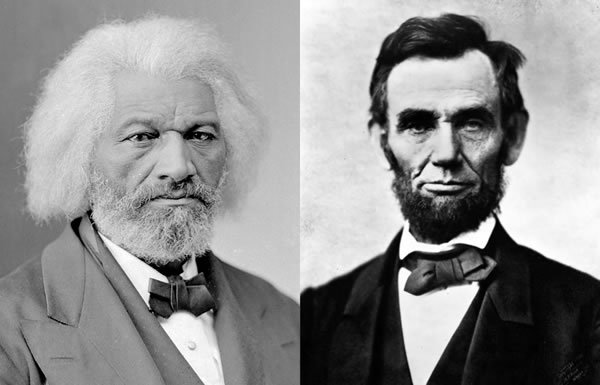 Image of Frederick Douglass and Abraham Lincoln