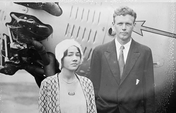 Image of Anne Morrow and Charles Lindbergh