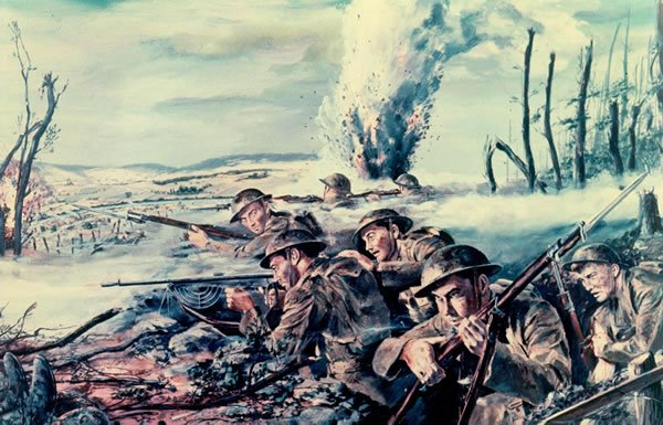 Image of World War I scene