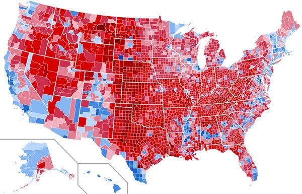 Image of United States Electoral Map