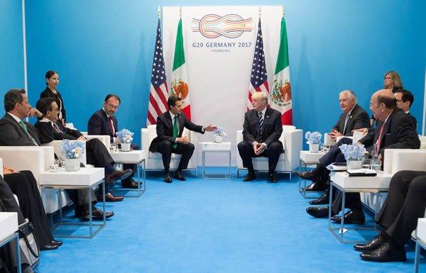 Image of G-20 summit meeting