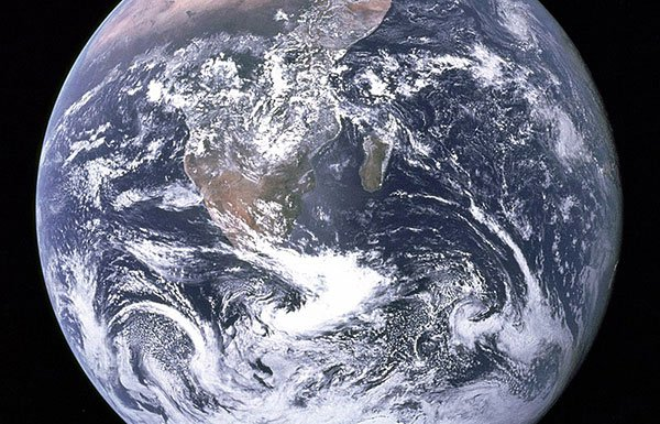 Image of Earth seen from space