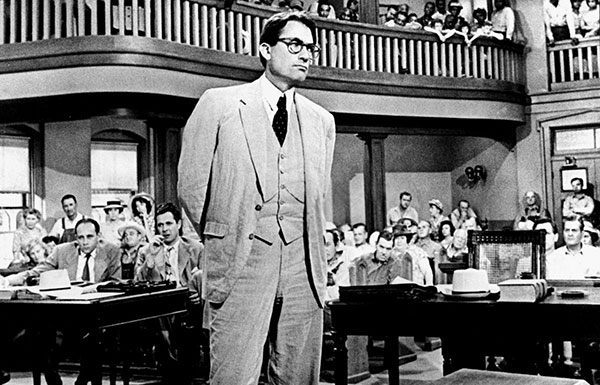 Image of Gregory Peck as Atticus Finch
