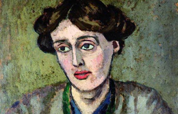 Image of painting of Virginia Woolf