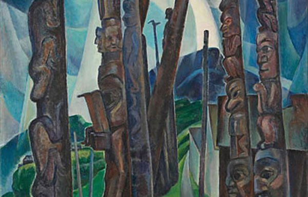 Image of painting by Emily Carr