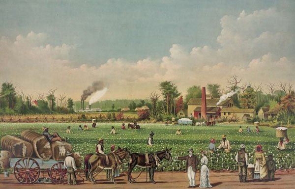 Image of old Southern scene