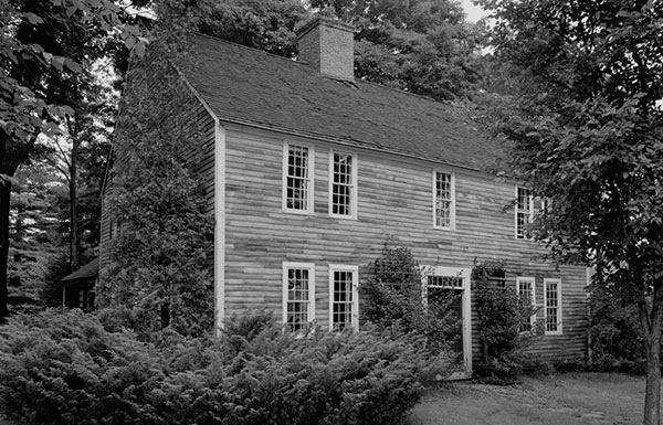 Image of New England house