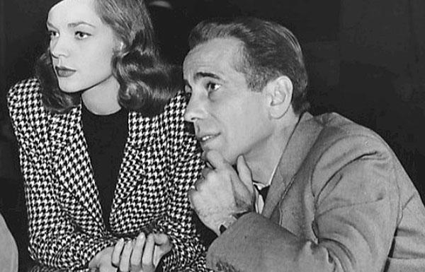 Image of Lauren Bacall and Humphrey Bogart