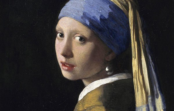 Image of painting of girl with pearl earring