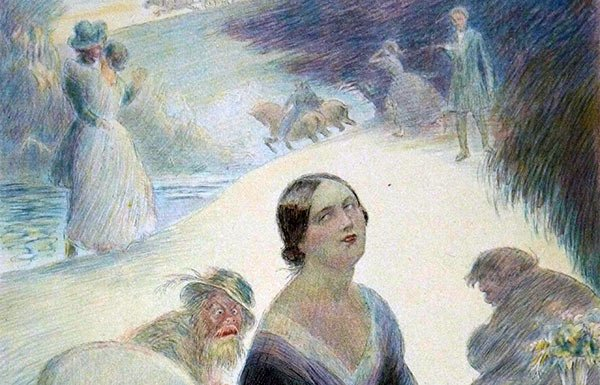 Image of painting of Madame Bovary