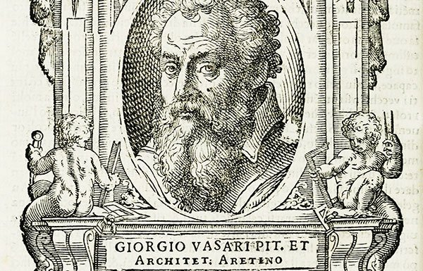 Image of etching of Giogio Vasari