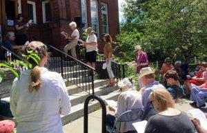 Image of Reading Frederick Douglass in Randolph