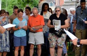Image of Reading Frederick Douglass event