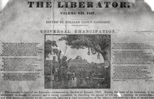 Image of The Liberator newspaper