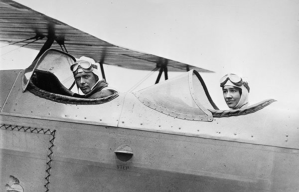 Image of Charles and Anne Morrow Lindbergh