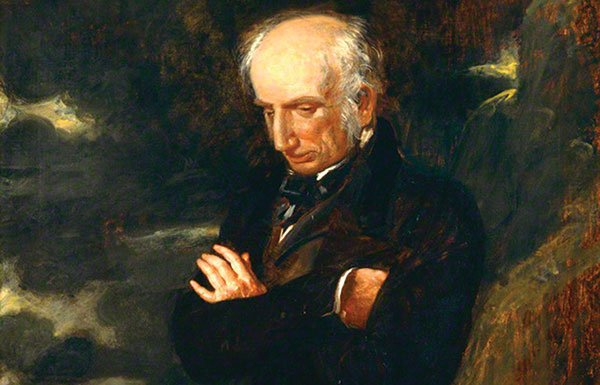 Image of painting of William Wordsworth