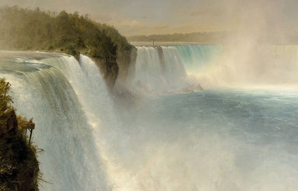 Image of painting of Niagara Falls