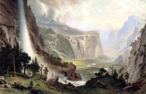 Image of Domes of Yosemite painting