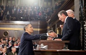 Image of President Obama and John Boehner