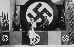 Image at Nazi record listening booth