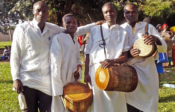 Image of drummers from Burundi