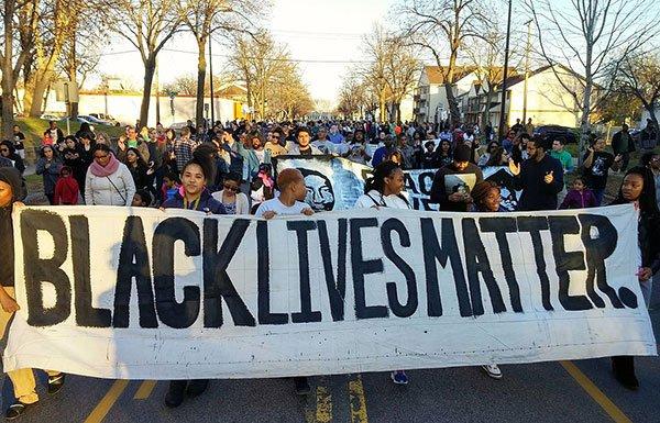 Image of Black Lives Matter march