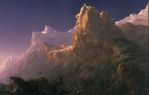 Image of painting of mountain scene